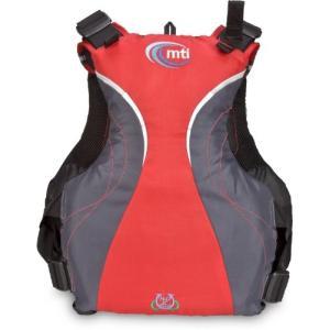 MTI(エムティーアイ) ライフジャケット ディーバSE MTI-705C レッド S/M|ngo-worksstore