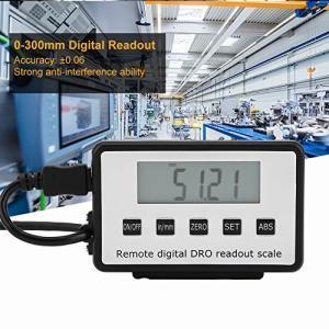 Akozon テスター デジタル 容量性 変位センサ LCD表示  コンクリート表面測定 範囲0-300mm フライス盤旋盤用デジタルリニアスケールL|ngo-worksstore
