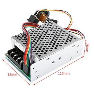 電圧レギュレータ モーター 速度コントローラーギュレータ PWM基板モジュール スピードコントローラー 無段階速度制御 DC10-55V|ngo-worksstore