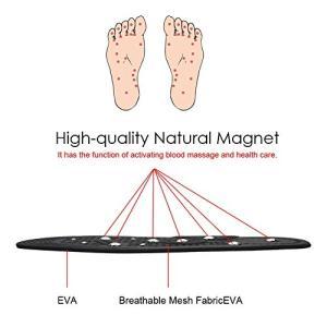 インソール マッサージ 磁気インソール 磁石入り 睡眠改善 疲労解消 サイズ裁断可能 男女兼用タイプ(L:25.5~28cm)|ngo-worksstore