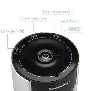 (Minofox) ネブライザー式 アロマディフューザー タイマー機能|ngo-worksstore