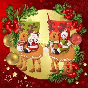 クリスマスソックス サンタ 雪だるま 飾り 装飾 壁掛け 玄関飾り 可愛い トナカイ お菓子入り プレゼント袋 ラッピング袋 置物 子供 道具 靴下 ngytomato