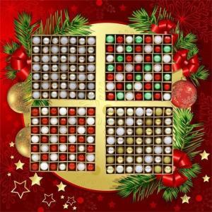 クリスマス ボール オーナメント 4種類 49個入り クリスマスツリー飾り 華麗 デコレーション 雑貨 装飾 壁掛け 玄関飾り プレゼント シルバー ゴルドー ngytomato