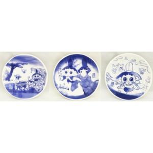 おじゃる丸豆皿 3枚セット|nhkgoods