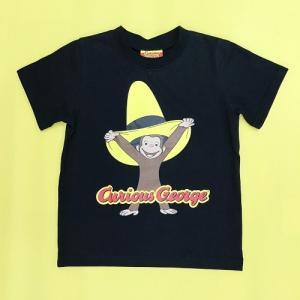 おさるのジョージ Tシャツ帽子でいたずら 110 K|nhkgoods