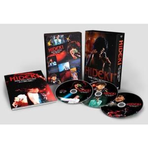 HIDEKI NHK Collection 西城秀樹〜若さと情熱と感激と〜 DVD BOX 全3枚【NHK DVD公式】|nhkgoods