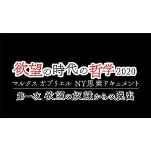欲望の時代の哲学2020 マルクス ガブリエル NY思索ドキュメント DVD【NHK DVD公式】