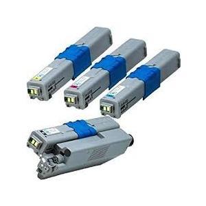 OKI対応 TC-C4AK2 C4AC2 C4AM2 C4AY2 リサイクルトナー (4色セット)|nhshop