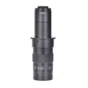 HAYEAR 調節可能な180 x倍率ズーム25 mm C - Mountレンズ4.5 X業界のアダプタ顕微鏡カメラ接眼レンズ拡大鏡|ni-store