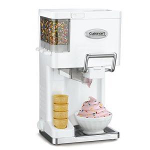 クイジナート ソフトクリームメーカー Cuisinart Ice-45 Mix Ice Cream Maker (ホワイト) 並行輸入品 [ ni-store
