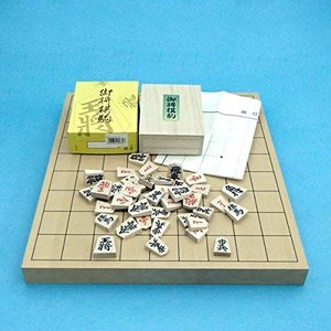 将棋セット 新桂1寸卓上接合将棋盤と特選将棋駒|ni-store