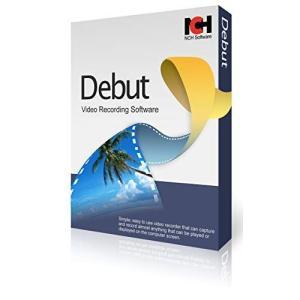 NCH Debut 新春セール 日本語版Debut 動画キャプチャソフト (Windows,Macに対応)|ni-store