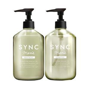 シャンプー & トリートメント 【 いい匂い の コンディショナー & シャンプー メンズ 用 】 SYNC men's メンズ シャンプー|ni-store