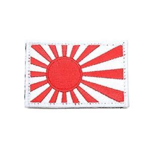 【PJ17-TN】 防衛省自衛隊グッズ ワッペン (01)白赤|ni-store