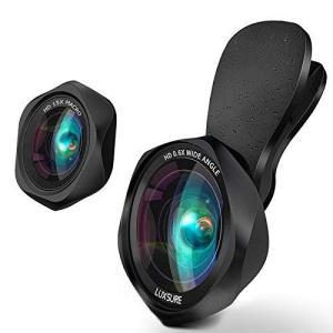 スマホ用カメラレンズ クリップ式レンズ 広角レンズ マクロレンズ 自撮りレンズ - iPhone Android タブレットなど対応 高画質 ni-store
