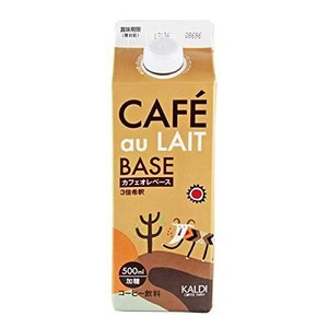 KALDI オリジナル カフェオレベース(濃縮コーヒー) 500ml|ni-store