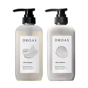 DROAS ドロアス シルキーシャンプー・シルキートリートメントブリージーサボンの香り (シャンプートリートメントセット)|ni-store