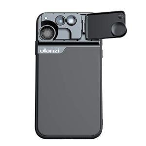 Kiown iPhone 11レンズカバー、iPhone 11携帯電話用カメラレンズ3 in 1キット[180度フィッシュアイ、10Xマクロ|ni-store