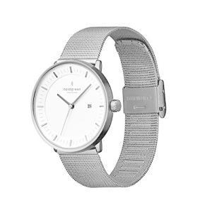 Nordgreen [ノードグリーン] 【Philosopher】メンズのガンメタルの北欧 デザイン腕時計 40mm ガンメタルメッシュスト|ni-store
