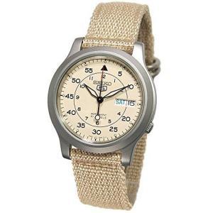 [セイコーインポート]SEIKO import 腕時計 海外モデル メッシュベルト 自動巻 ベージュ SNK803K2 メンズ [逆輸入品] ni-store
