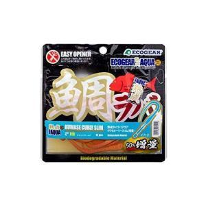 マルキュー エコギア 熟成 鯛ラバアクア 増量 クワセカーリースリム J18 オレンジゴールド 17121|ni-store