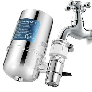 Wallfire 浄水器 蛇口 直結型 シャワーヘッド軟水器 長効水浄化 細菌/藻類/水あかなど除去 新生活 家庭 お風呂 キッチン 用|ni-store