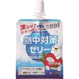 赤穂化成 熱中対策ゼリーライチ味 150g×24個|ni-store