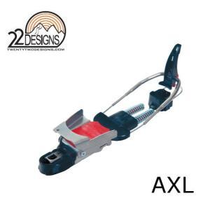 22DESIGNS AXL(アクセル) テレマークビンディング|niceedge