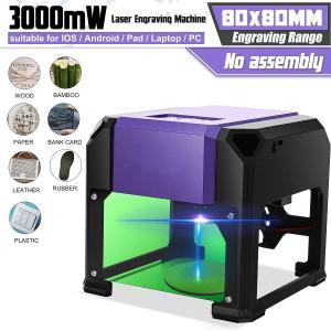 レーザー彫刻機 DIY ロゴマーク プリンター カッター デスクトップ win/mac os 300...