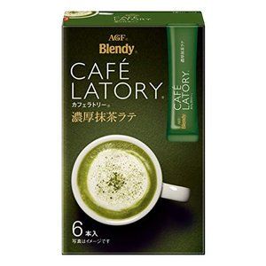 AGF ブレンディ カフェラトリー スティック 濃厚抹茶ラテ 6本×6箱 【 粉末 抹茶 】