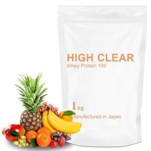 【さっぱり系・クエン酸入り】WPCホエイプロテイン100 ミックスフルーツ風味 40食分 1kg(ハ...
