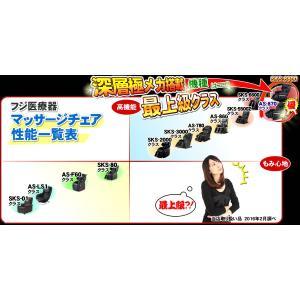 フジ医療器 マッサージチェア サイバーリラックス AS-870 BK 新古品 nicgekishin 04