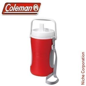 コールマン coleman ジャグ 1/2ガロン(レッド) 2000010449 キャンプ用品|niche-express