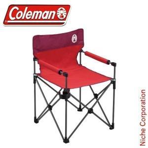 コールマン coleman カップホルダー付きスリムチェア (レッド)[チェア | アウトドア チェア | イス | チェア アウトドア ]|niche-express