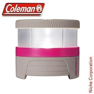 コールマン LED充電式パックライト(グレー/ピンク) 2000016985 キャンプ用品 アウトドア用品 ランタン|niche-express
