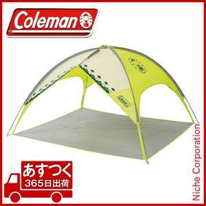 コールマン サンシェードMX (アーガイル/ライムグリーン) [2000017141] [coleman テント タープ シェイド アウトドア キャンプ ]|niche-express