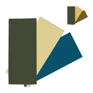 オガワキャンパル ( ogawa ) リペアクロスセット(補修布) 各3色入 (ブルー/ブラウン)3124 キャンプ用品|niche-express
