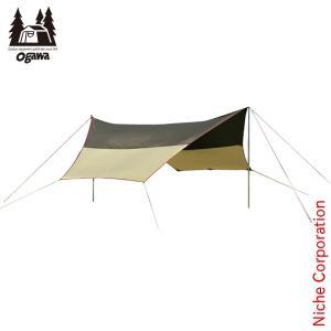 オガワキャンパル ( ogawa ) フィールドタープヘキサDX ( 3333 ) キャンプ用品 アウトドア用品|niche-express