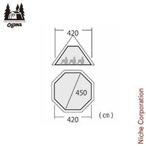 ■サイズ/幅420・450×高さ193cm ■重 量/約4.6kg ■素 材/本体:ポリエステル、 ...