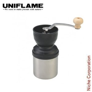ユニフレーム UFコーヒーミル  [664070]UNIFLAME ステンレス鍛造の刃を採用し、切れ...