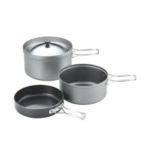 ユニフレーム ごはんクッカープラス [ 667613 ] 調理の楽しみを重視した本格クッカー。 黒川...