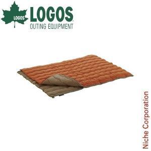 ロゴス 2in1・Wサイズ丸洗い寝袋・2 ( 72600680 ) キャンプ用品|niche-express