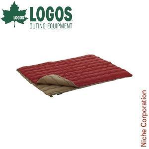 ロゴス 2in1・Wサイズ丸洗い寝袋・0 ( 72600690 ) キャンプ用品 niche-express