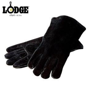 LODGE ロッジ レザー グローブ ブラック A5-2 キャンプ用品 niche-express