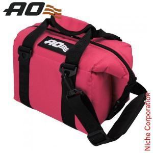 AOクーラーズ 6パック キャンバス ソフトクーラー レッド AO6RD-RD キャンプ用品