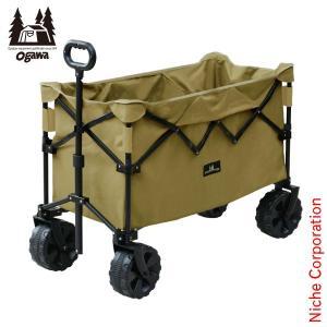 オガワキャンパル(ogawa) ディープキャリーワゴン 1385 折り畳み キャリーカート  キャンプ用品|niche-express