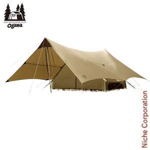 キャンパル トリアングロ (5人用A型テント)  2745 ogawa オガワ 小川 キャンプ用品|niche-express
