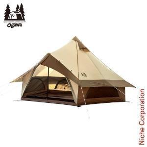 オガワキャンパル(ogawa) グロッケ8 (4人用モノポール+1フレームテント)  2786 キャンプ用品|niche-express