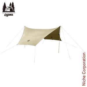 オガワキャンパル(ogawa) フィールドタープヘキサDX テント タープ 3333-80 キャンプ用品|niche-express