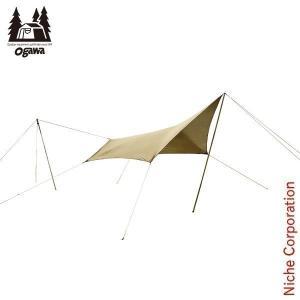 オガワキャンパル(ogawa) システムタープ ペンタ3x3 テント タープ 3337-80 キャンプ用品|niche-express